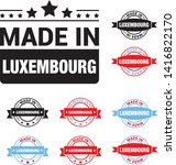 made in luxembourg collection... | Shutterstock .eps vector #1416822170