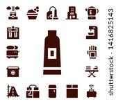 household icon set. 17 filled... | Shutterstock .eps vector #1416825143