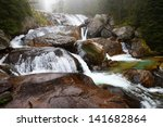 Long Waterfall  High Tatras ...