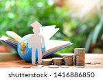 money coins saving set increase ... | Shutterstock . vector #1416886850