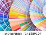 paint samples. sample of... | Shutterstock . vector #141689104