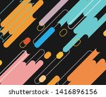 abstract background  colorful... | Shutterstock .eps vector #1416896156