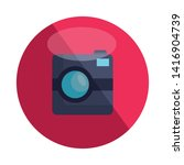 photographic camera device...   Shutterstock .eps vector #1416904739