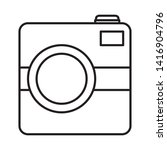 photographic camera device...   Shutterstock .eps vector #1416904796