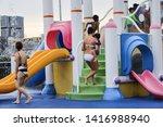 kallang   singapore   june 6th... | Shutterstock . vector #1416988940