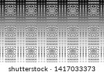 black and white relief convex... | Shutterstock . vector #1417033373