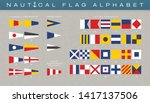 vector international marine... | Shutterstock .eps vector #1417137506