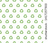 recycling pattern. endless... | Shutterstock .eps vector #1417257503