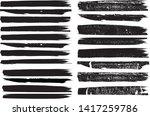 grunge paint roller . vector... | Shutterstock .eps vector #1417259786