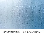 Condensation Drops On Window...