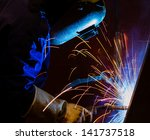 Welding Steel Structure In...