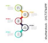 business infographics desing... | Shutterstock .eps vector #1417376699