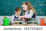 school laboratory partners.... | Shutterstock . vector #1417376819