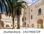 Carlo V Castle In Lecce  Italy