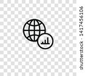 worldwide icon from business... | Shutterstock .eps vector #1417456106