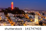 View Of Coit Tower And St....