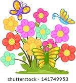illustration of isolated lovely ... | Shutterstock .eps vector #141749953