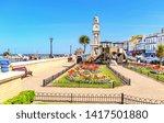 04.18.2018. herne bay  kent  uk.... | Shutterstock . vector #1417501880