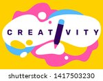 vector creative illustration of ... | Shutterstock .eps vector #1417503230