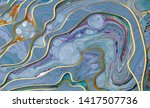 marble abstract acrylic... | Shutterstock . vector #1417507736