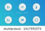 display icon set vector design