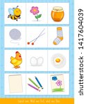 educational children game ... | Shutterstock .eps vector #1417604039