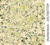 wavy liquid ink or oil surface...   Shutterstock .eps vector #1417607729
