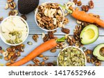 healthy food and dieting... | Shutterstock . vector #1417652966
