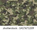 full seamless abstract military ... | Shutterstock .eps vector #1417671209