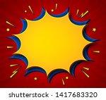 comics background. cartoon...   Shutterstock .eps vector #1417683320