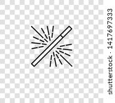 magic wand icon from magic...   Shutterstock .eps vector #1417697333