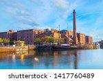 liverpool  uk   may 17 2018 ... | Shutterstock . vector #1417760489