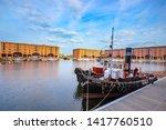 liverpool  uk   may 17 2018 ... | Shutterstock . vector #1417760510