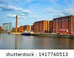 liverpool  uk   may 17 2018 ... | Shutterstock . vector #1417760513