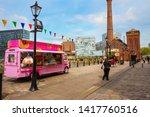 liverpool  uk   may 17 2018 ... | Shutterstock . vector #1417760516