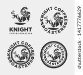 Knight Coffee Vector Logo ...
