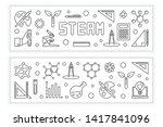 steam vector concept modern... | Shutterstock .eps vector #1417841096