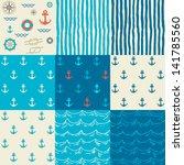 Nine Seamless Patterns Of...
