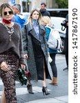 paris october 2  2018.street...   Shutterstock . vector #1417867190