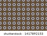 brown  black and white... | Shutterstock . vector #1417892153