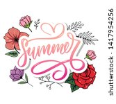 vector word sale .letters made... | Shutterstock .eps vector #1417954256