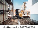 industrial machinery on... | Shutterstock . vector #1417964906