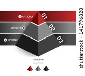 Modern Design Template Pyramid...