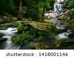 Beautifull Waterfall In Deep...