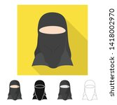 vector illustration of imitator ... | Shutterstock .eps vector #1418002970