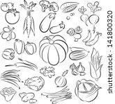 vector illustration of ... | Shutterstock .eps vector #141800320