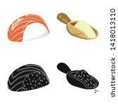 vector illustration of crop and ... | Shutterstock .eps vector #1418013110