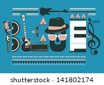 Blues Music Artwork For Poster