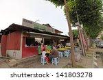 kuala lumpur   june 9  customer ... | Shutterstock . vector #141803278