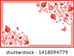 greeting horizontal visiting...   Shutterstock .eps vector #1418094779